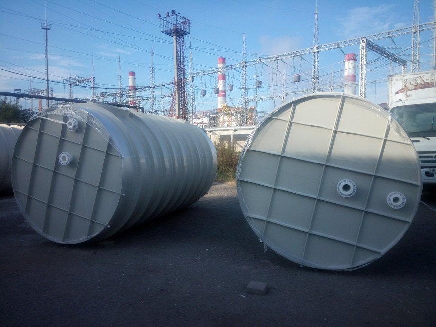 Сантехнические работы. Производство цилиндрических резервуаров от 5000 литров