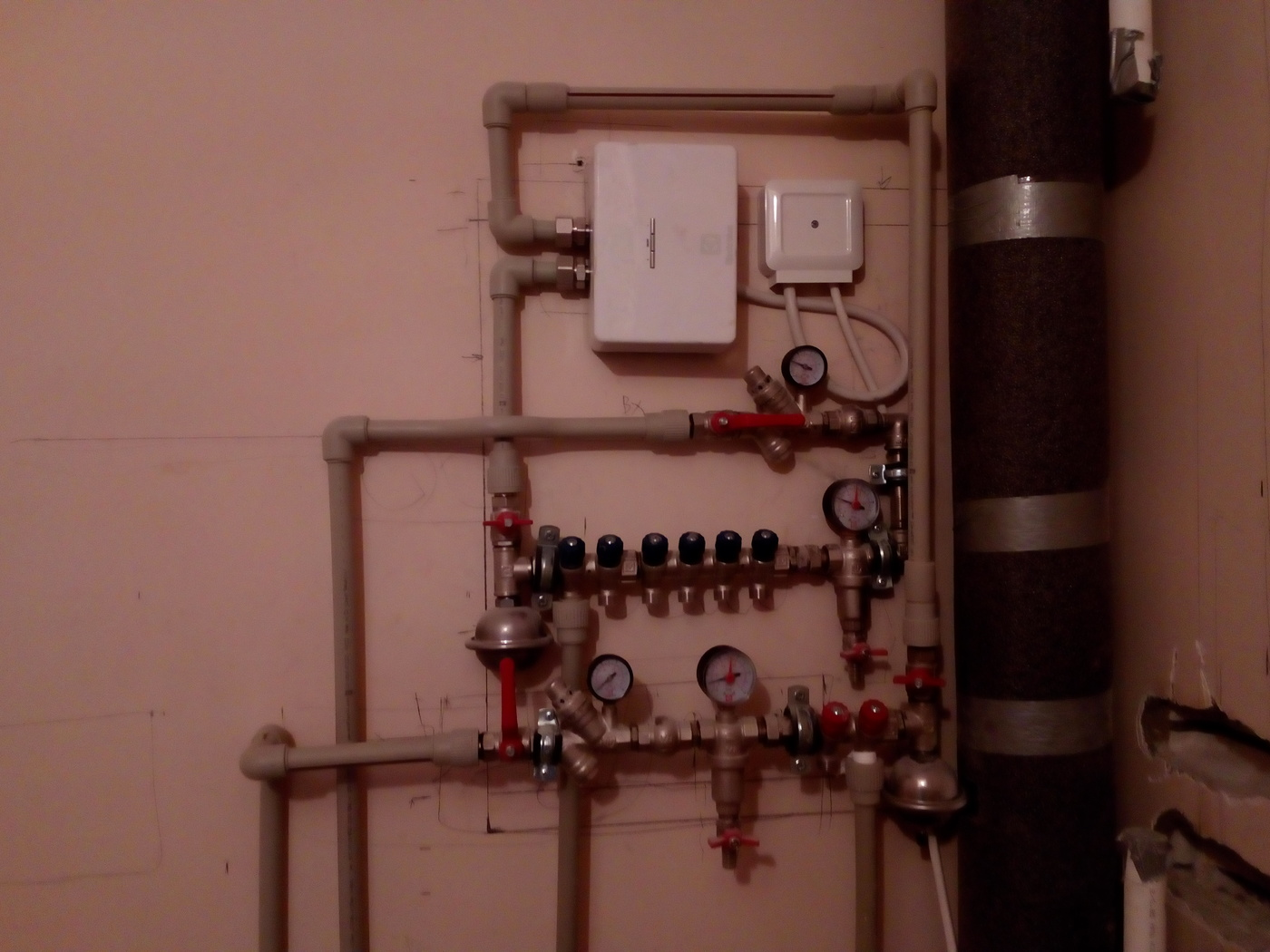 Отопление, водоснабжение и канализация. Мои работы