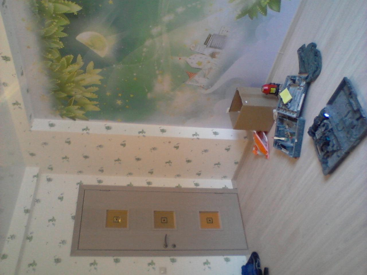Ремонт комнаты. Комната детская