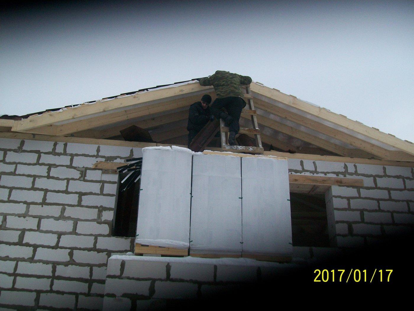 Строительство стен и перегородок. строительство коттеджа