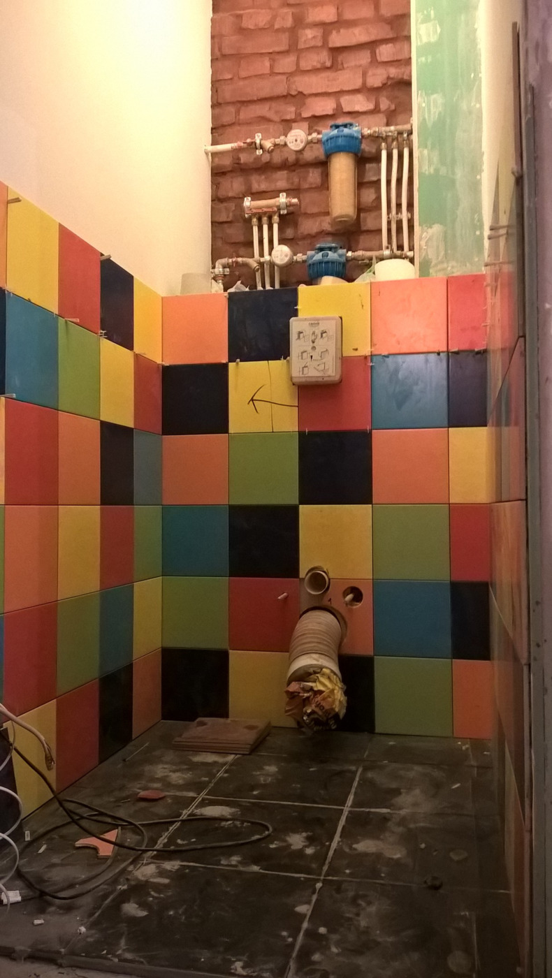 Отделка ванных комнат. Ваш персональный строитель