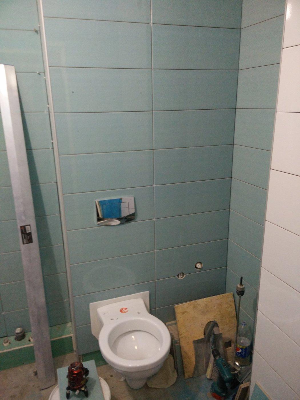 Ремонт ванной. Санузел