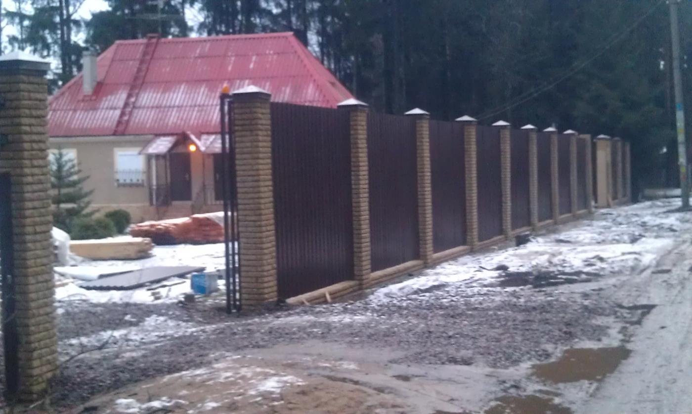 Строительство заборов и ворот