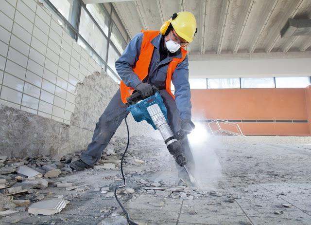 Снос зданий, демонтаж