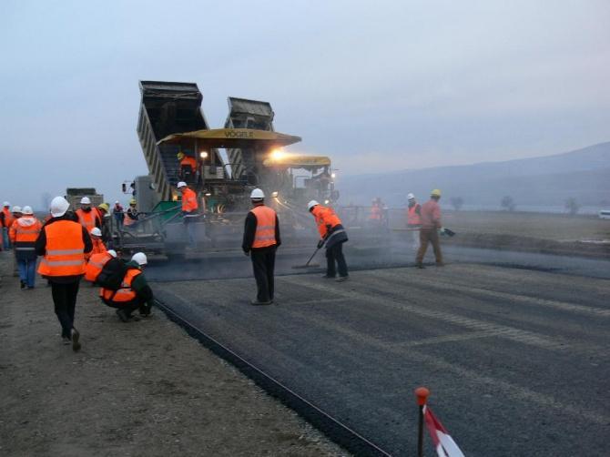 Строительство дорог и площадок