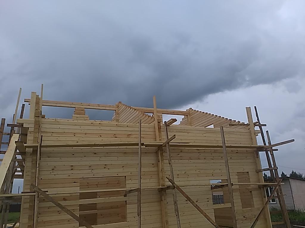 Строительство домов и коттеджей. Некоторое из работ