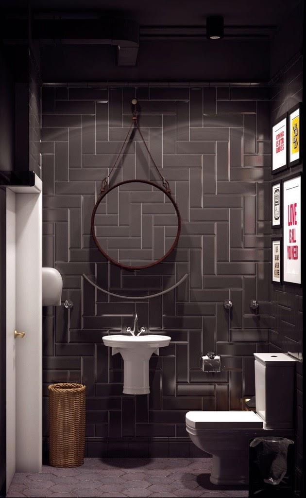 Плитка и мозаика. Туалет