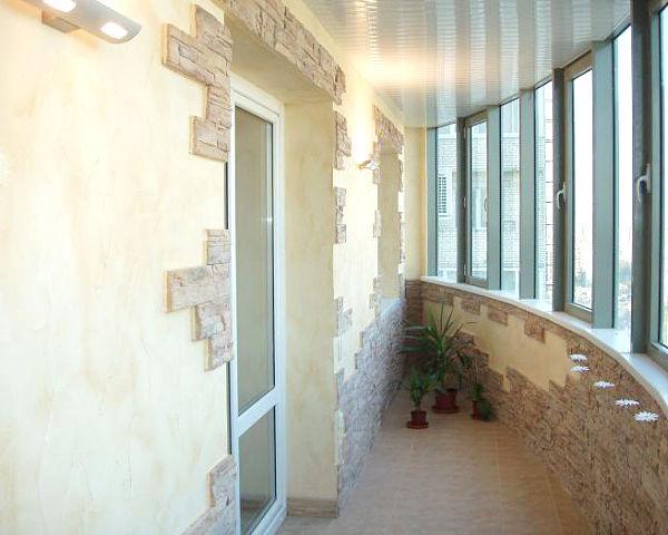 Балконы, лоджии, веранды. Лоджия
