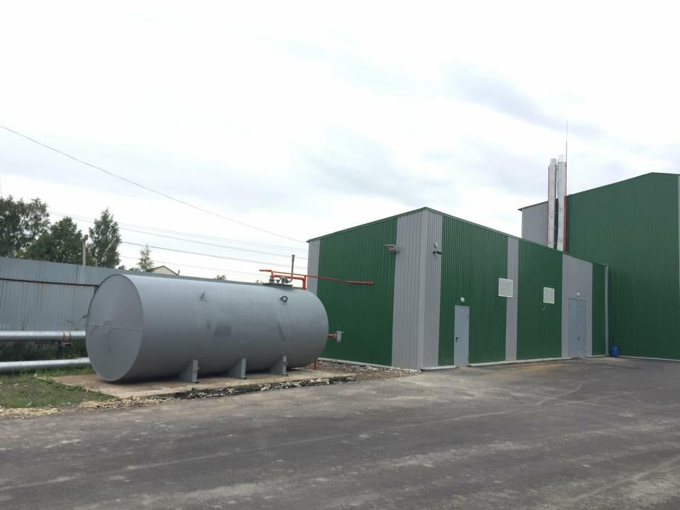 Газификация. Устройство котельной 2,0 МВт, наружных тепловых сетей и системы воздушного отопления