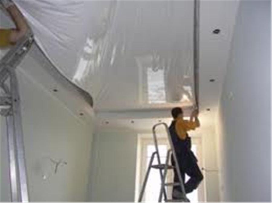 Монтаж потолков. Кабельные и электромонтажные работы