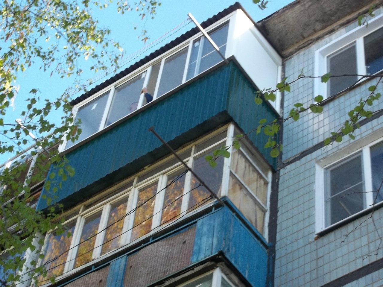 Балконы, лоджии. Балконы
