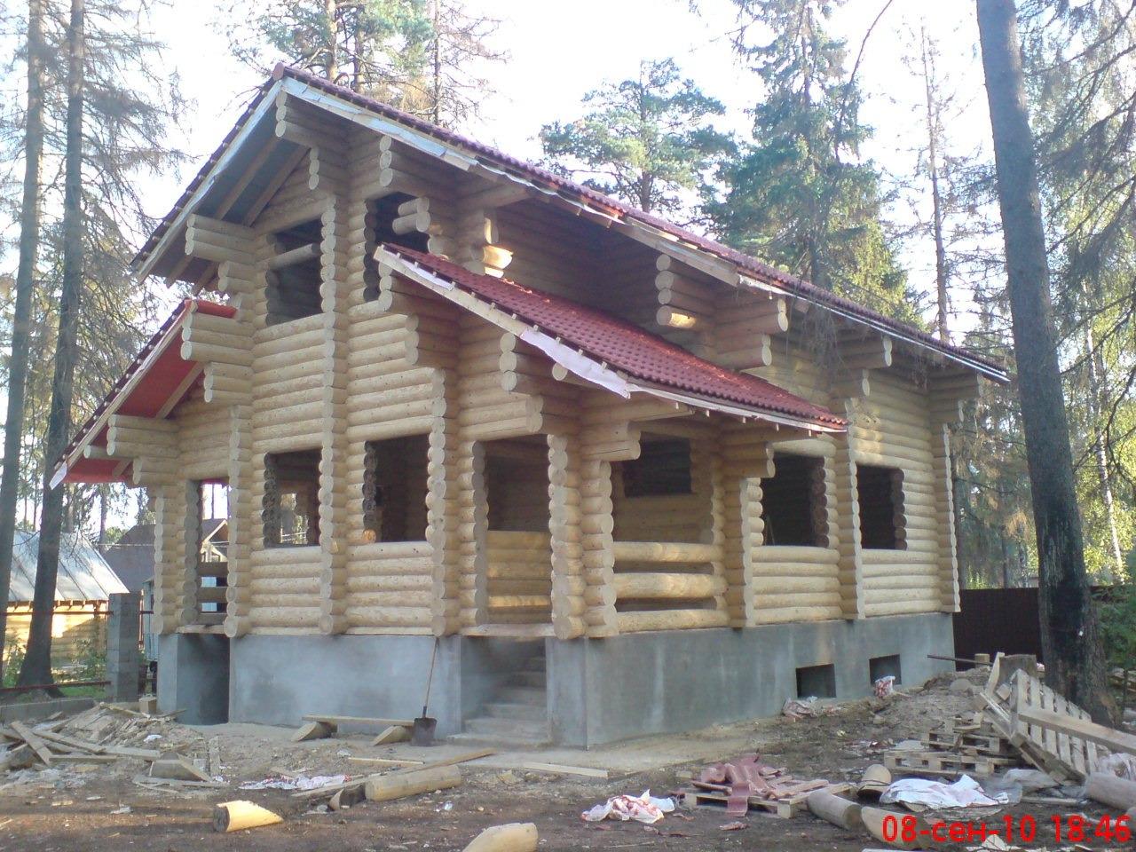 Строительство домов и коттеджей. Срубы