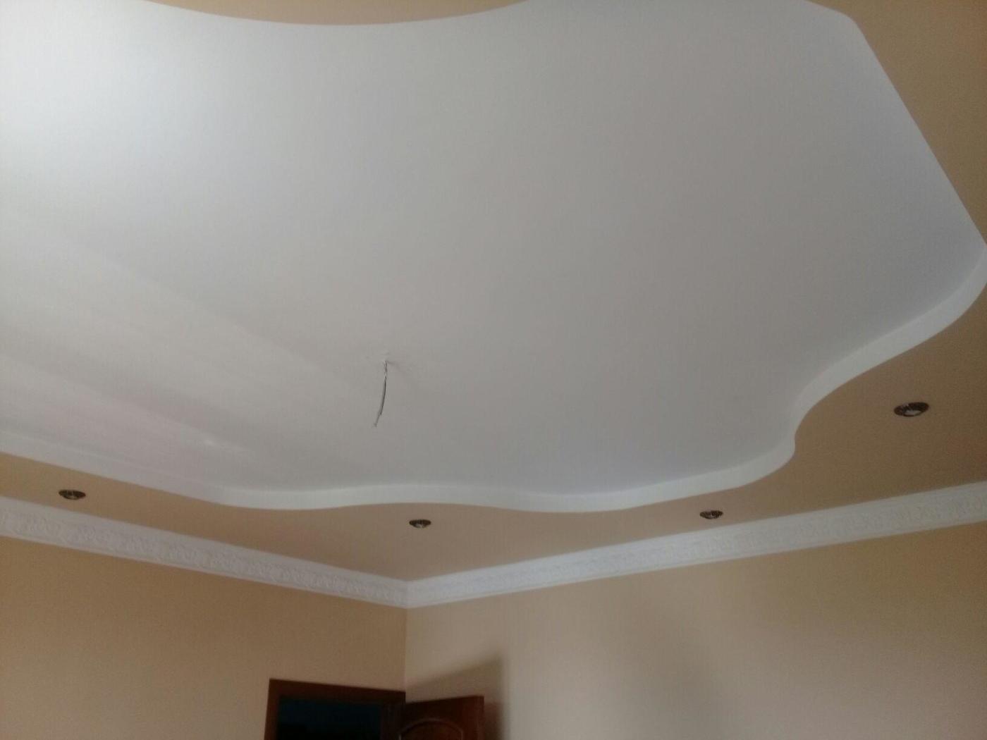 Работы с гипсокартоном. Потолок гипсокартон
