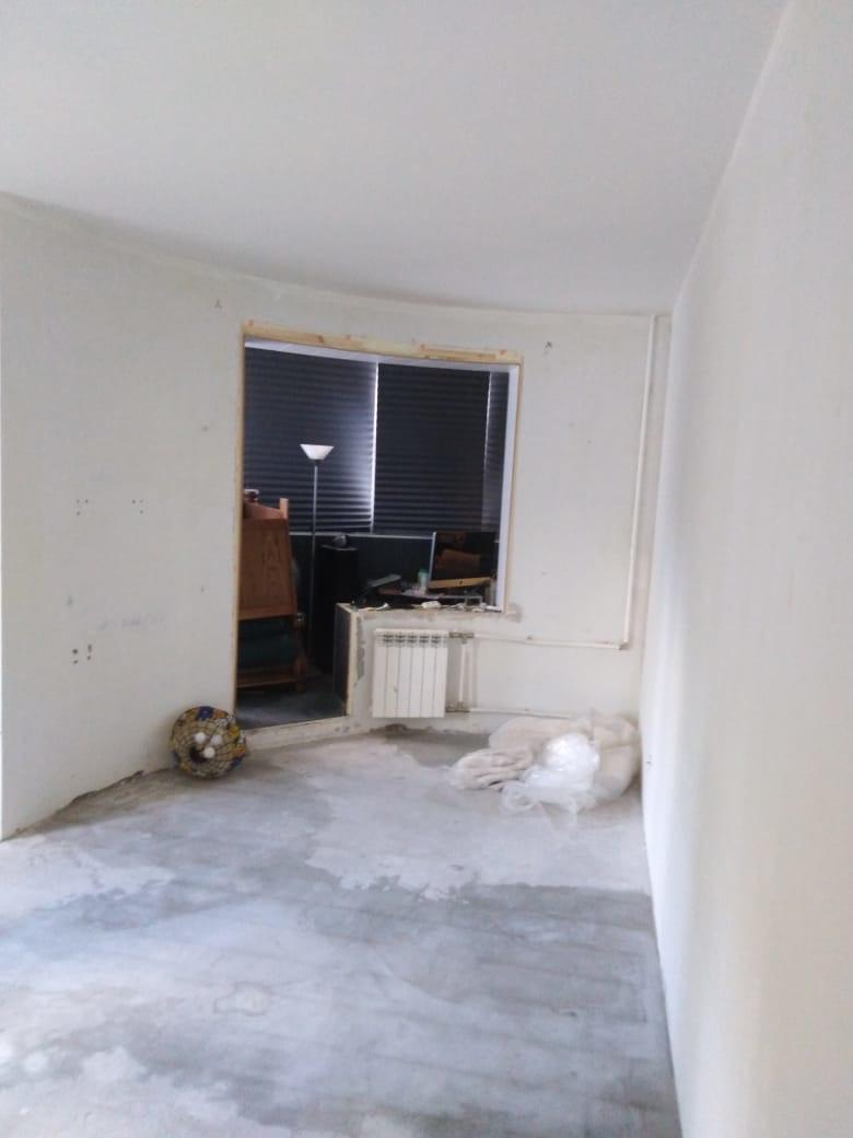 Ремонт гостиной и зала. Ремонт комнаты с перепланировкой на пр. Науки дом 8