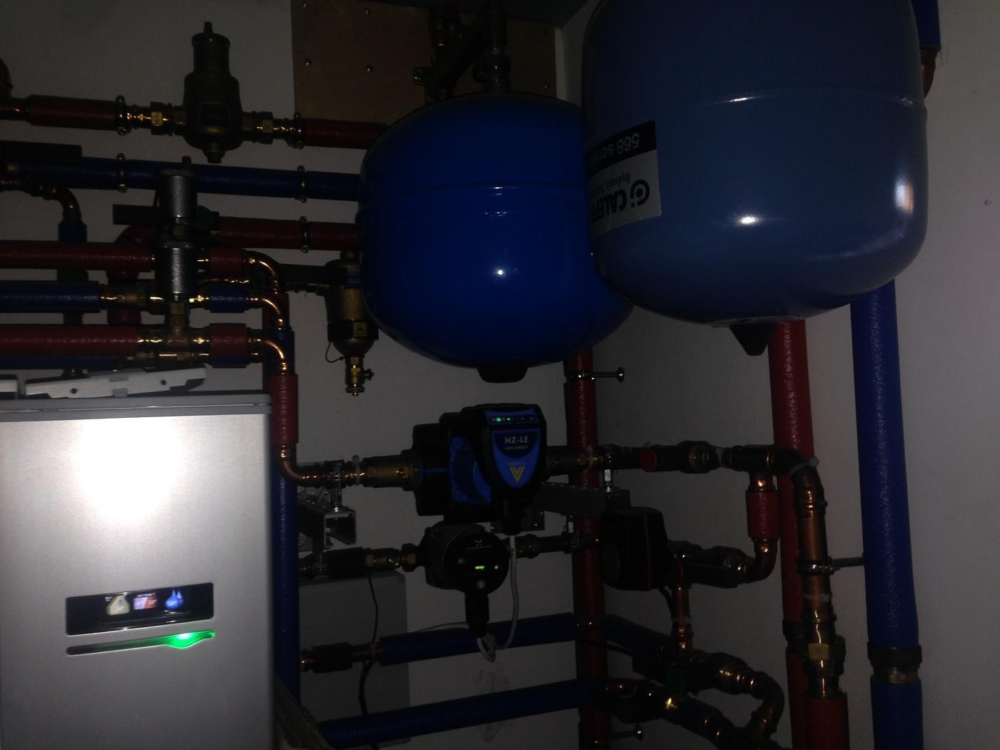 Отопление, водоснабжение и канализация. Геотермальное отопление частного дома