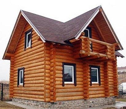 Строительство срубов. Сборка дома из рубленного или оцилиндрованного бревна
