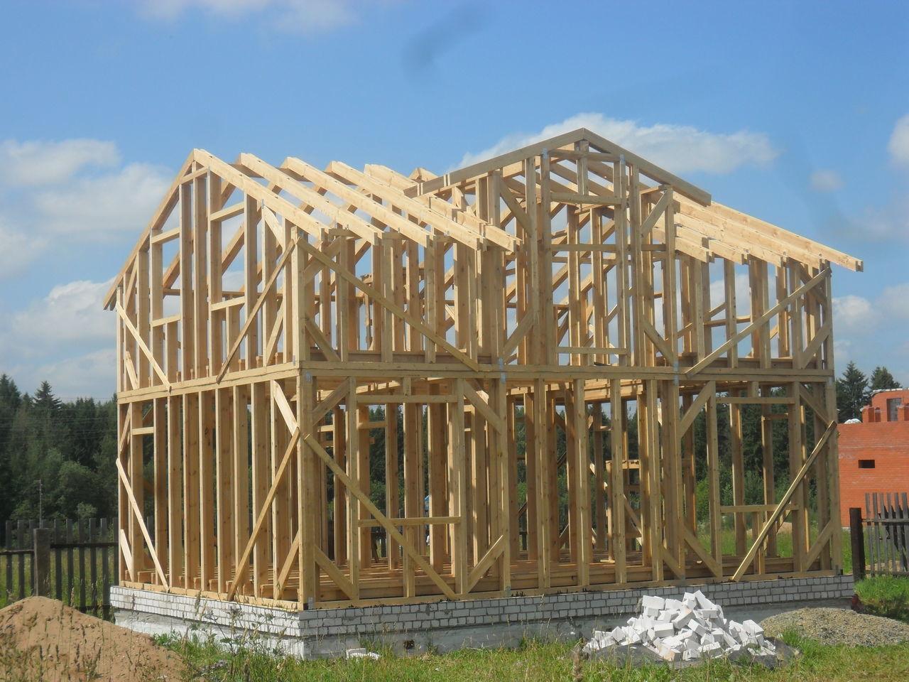 Строительство домов и коттеджей. Малоэтажное домостроение