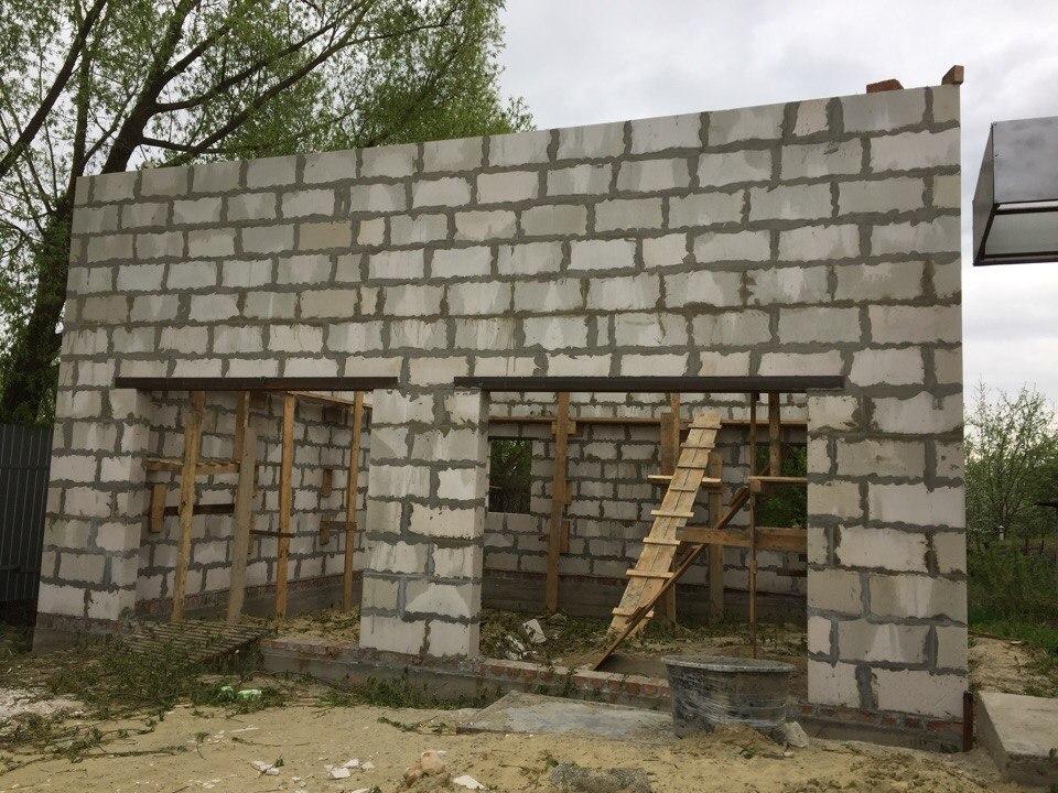 Строительство домов и коттеджей. гараж