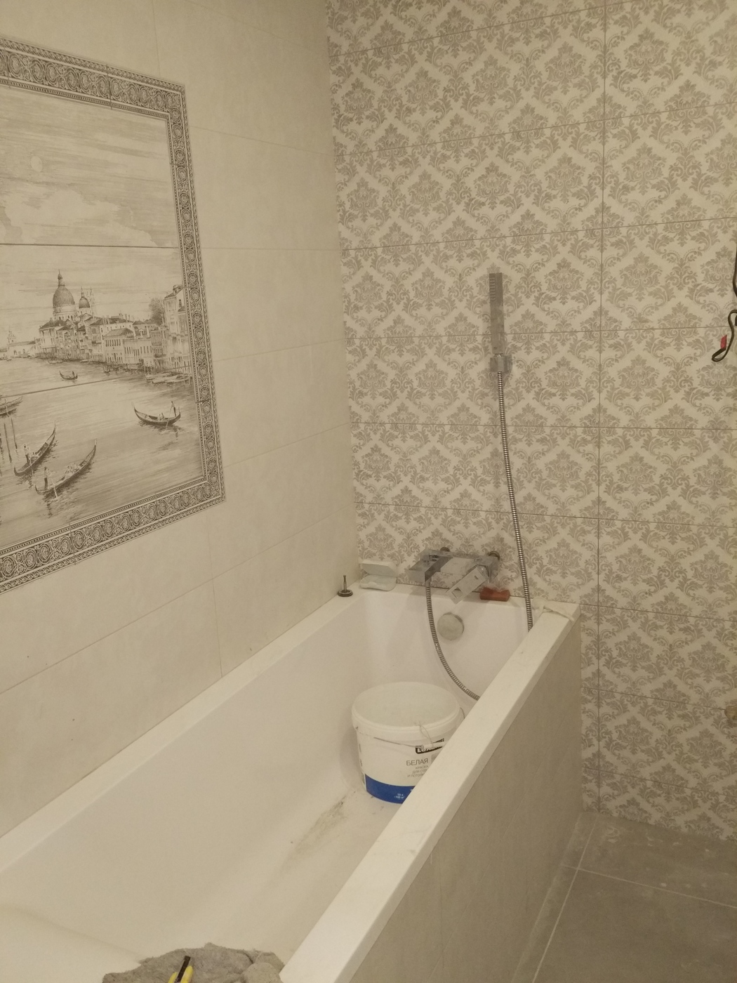 Ремонт квартиры. Отделка ванны