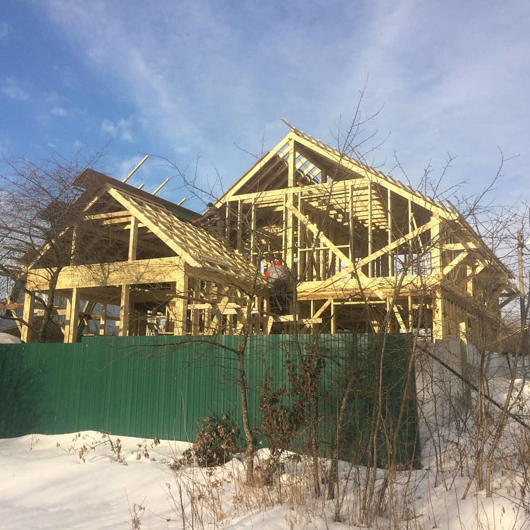 Строительство домов и коттеджей. Дом в Лыткарино