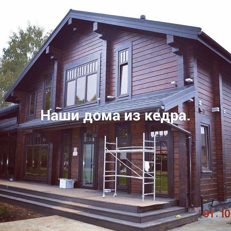Строительство домов и коттеджей. Наши работы.