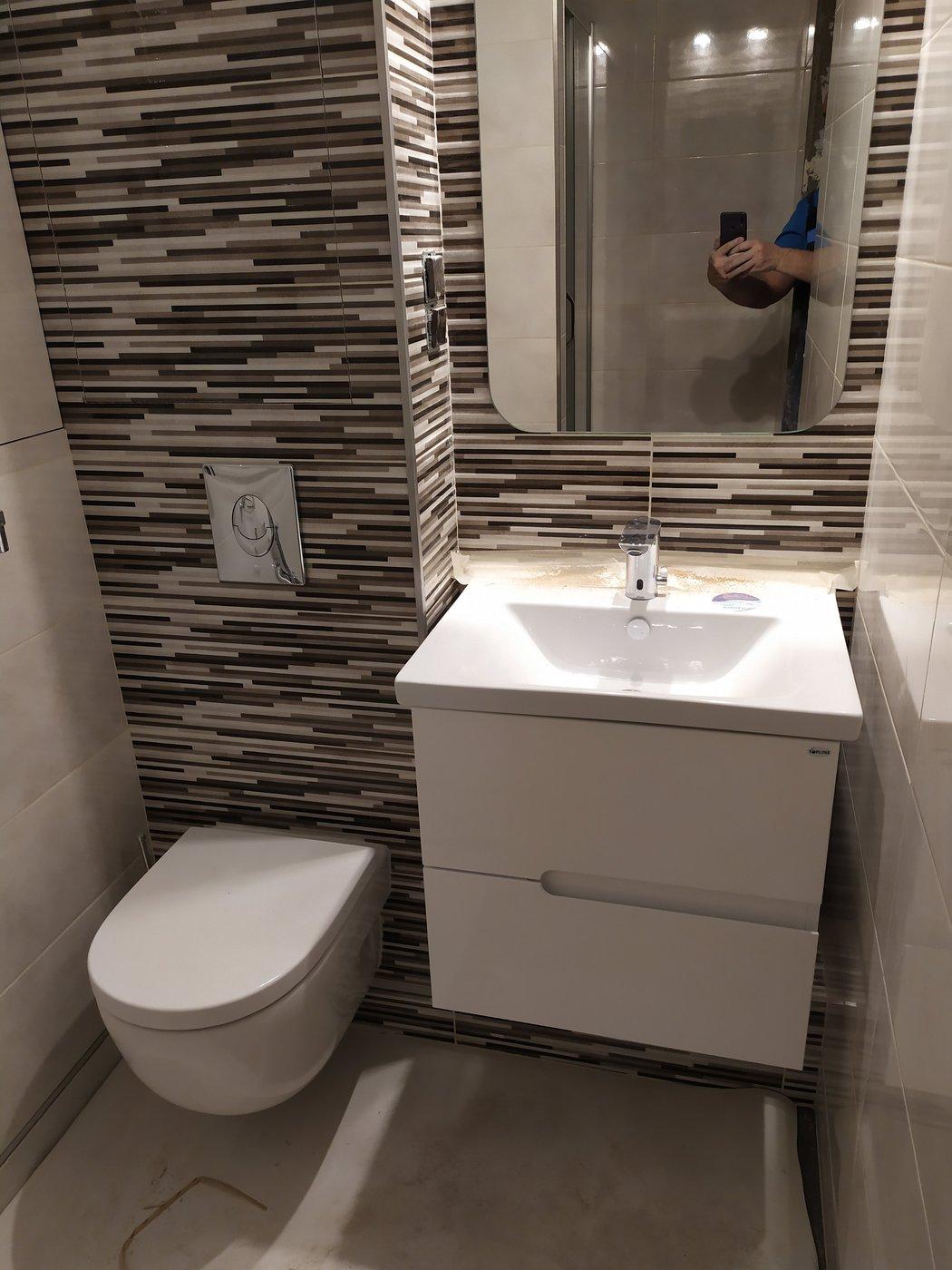 Ремонт ванной. Апрель