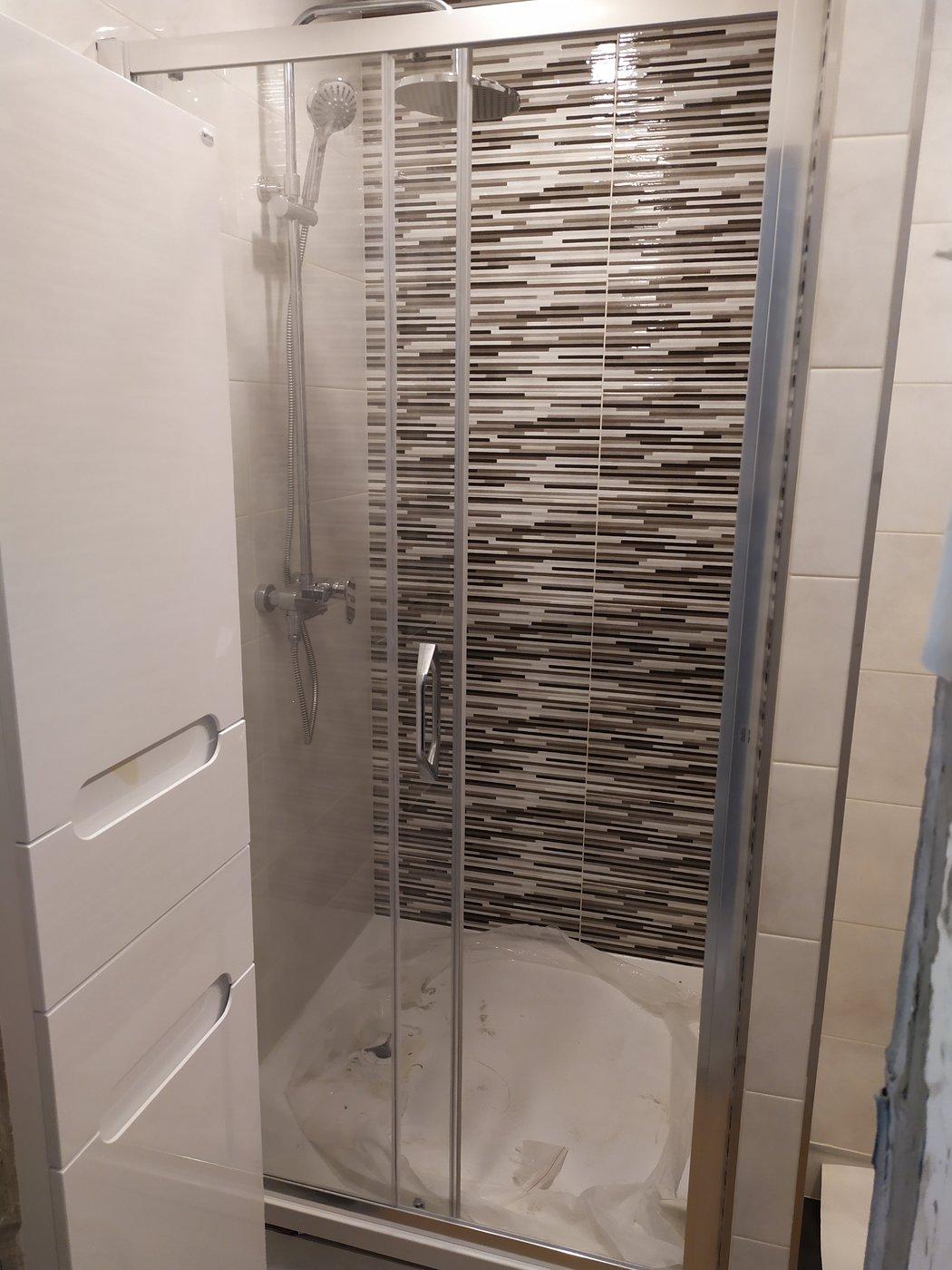 Ремонт ванной. Март