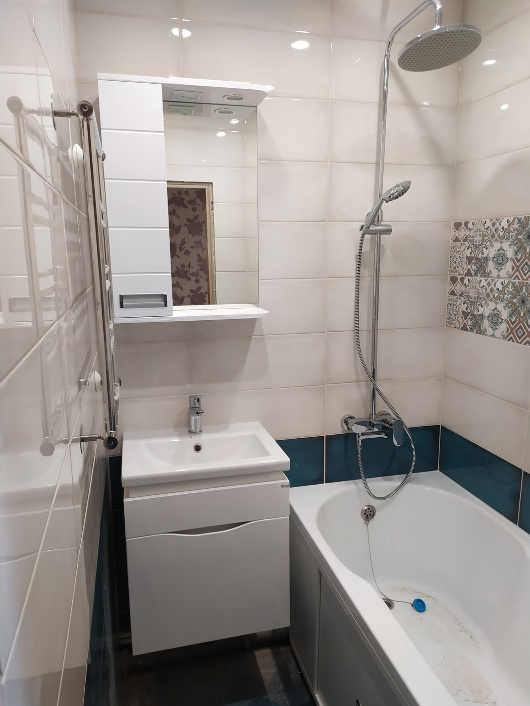 Ремонт ванной. Ванна