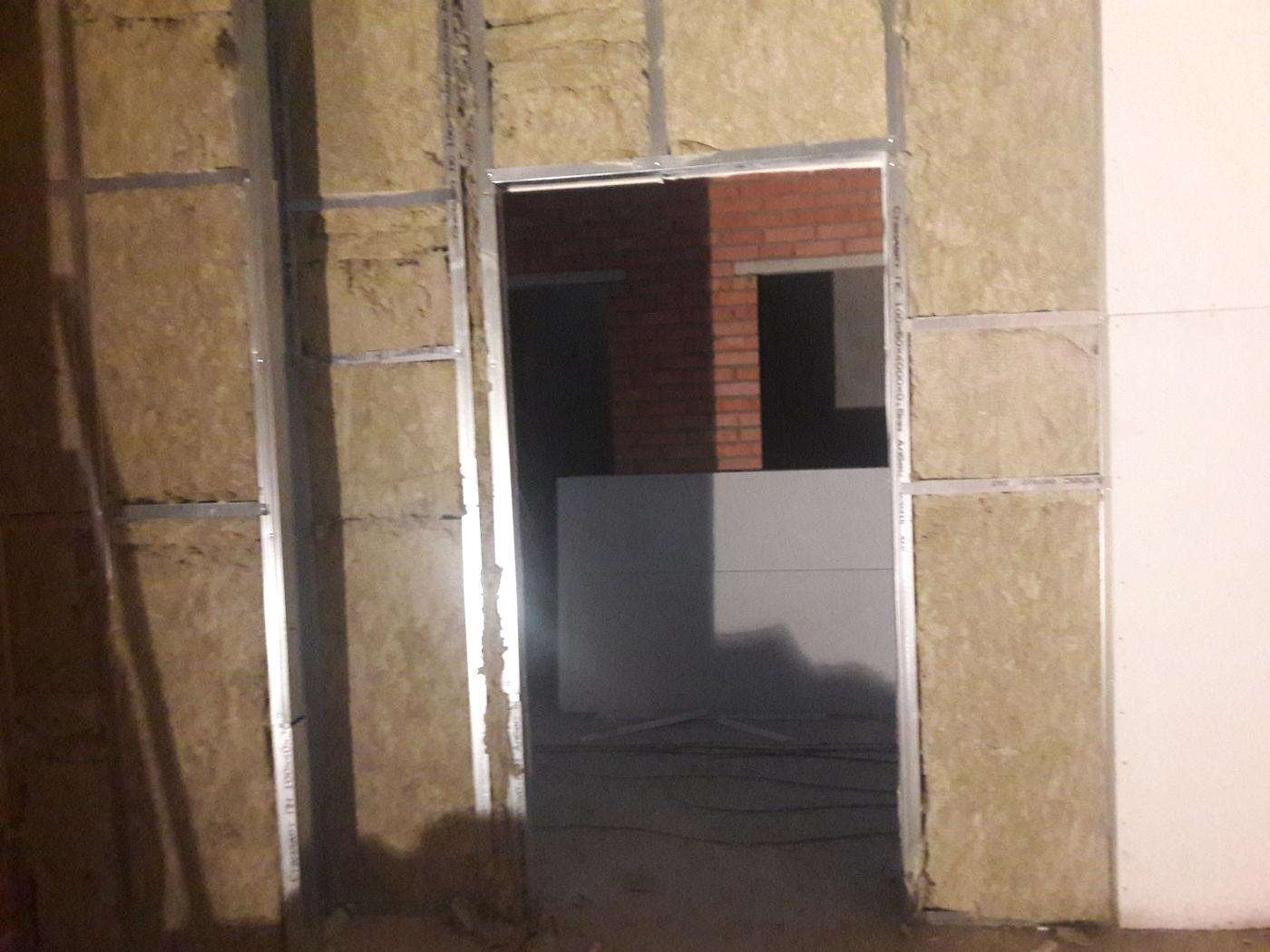 Строительство стен и перегородок. Наши работы2