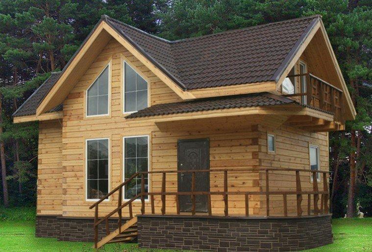 Строительство домов и коттеджей. Наши работы