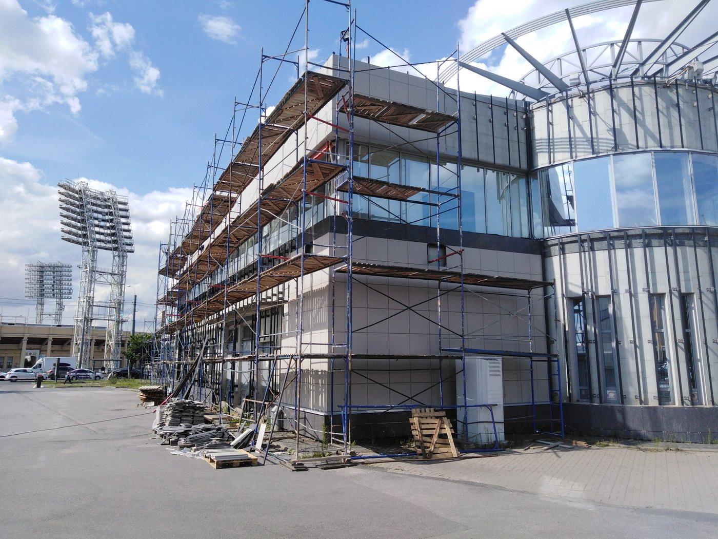 Фасадные работы. Лето 2019