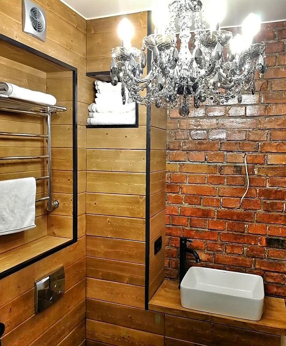 Отделка ванных комнат. Ванная на Кондратьевском