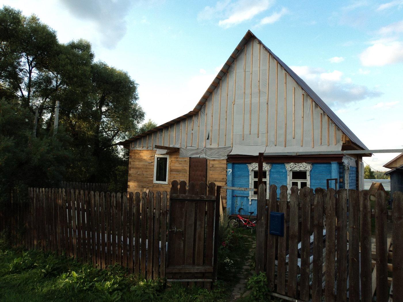 Фасадные работы. реконструкция дома