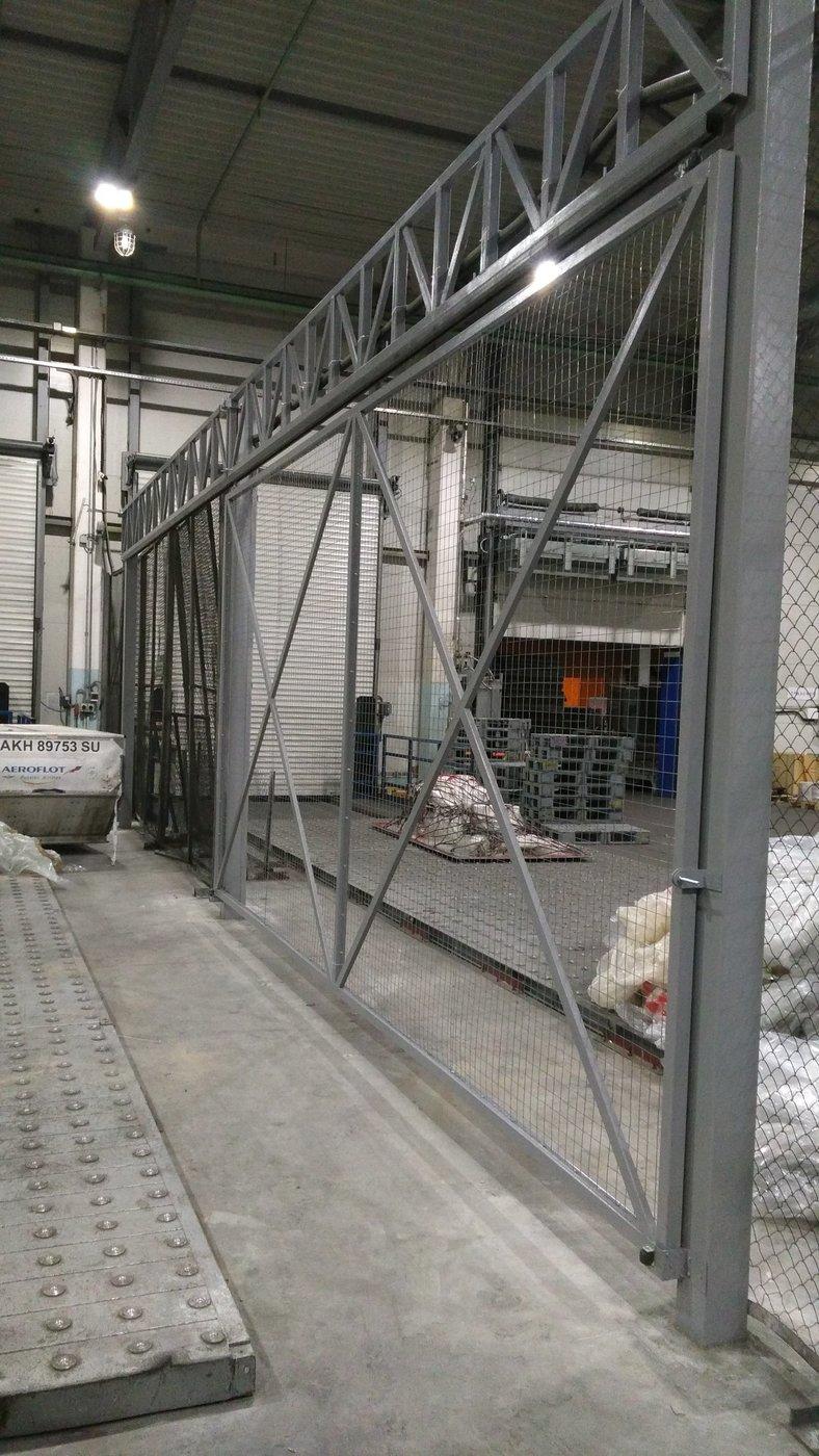 Монтаж металлоконструкций. Ворота и ограждения изготовление и монтаж