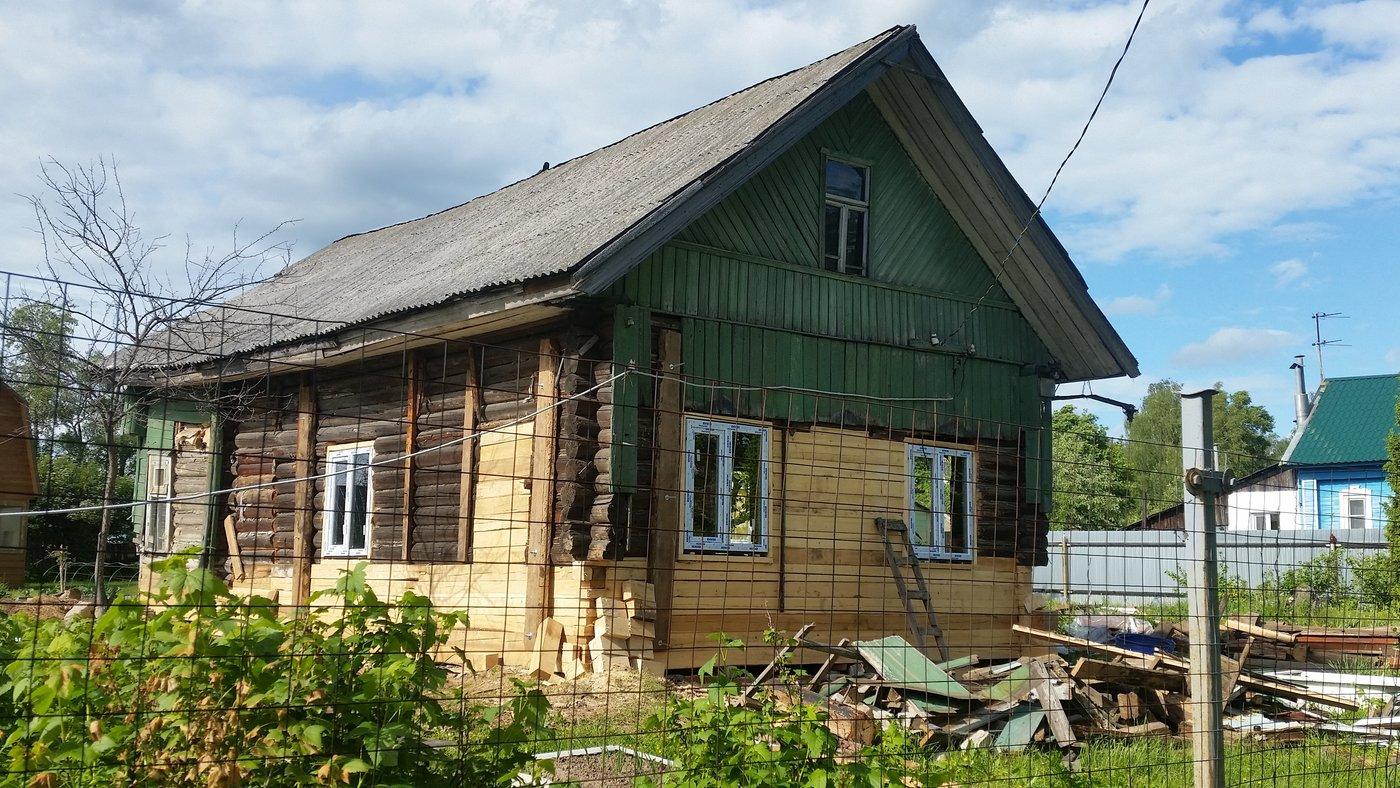 Ремонт дома, коттеджа. Подъём домов