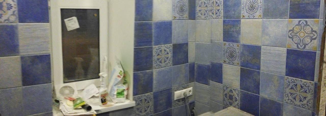Ремонт туалета. Плитка