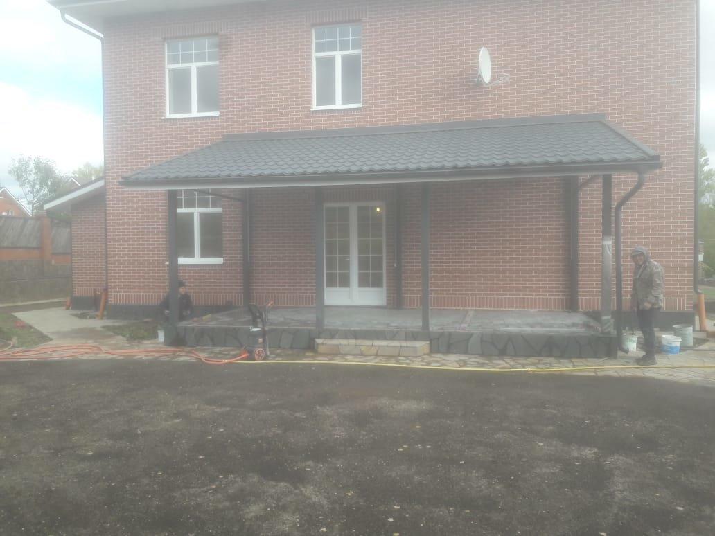 Строительство домов и коттеджей. Строительство дома. Бетонные работы