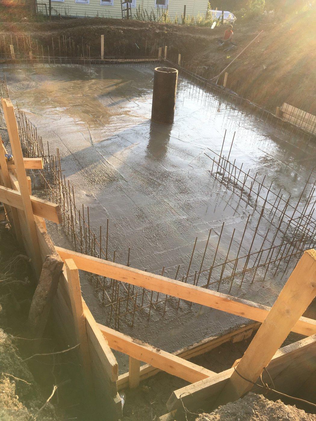 Строительство фундамента. Строительство цокольного этажа дома