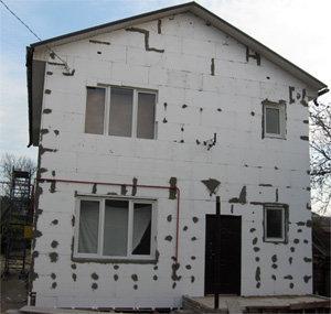 Фасадные работы. Фасад