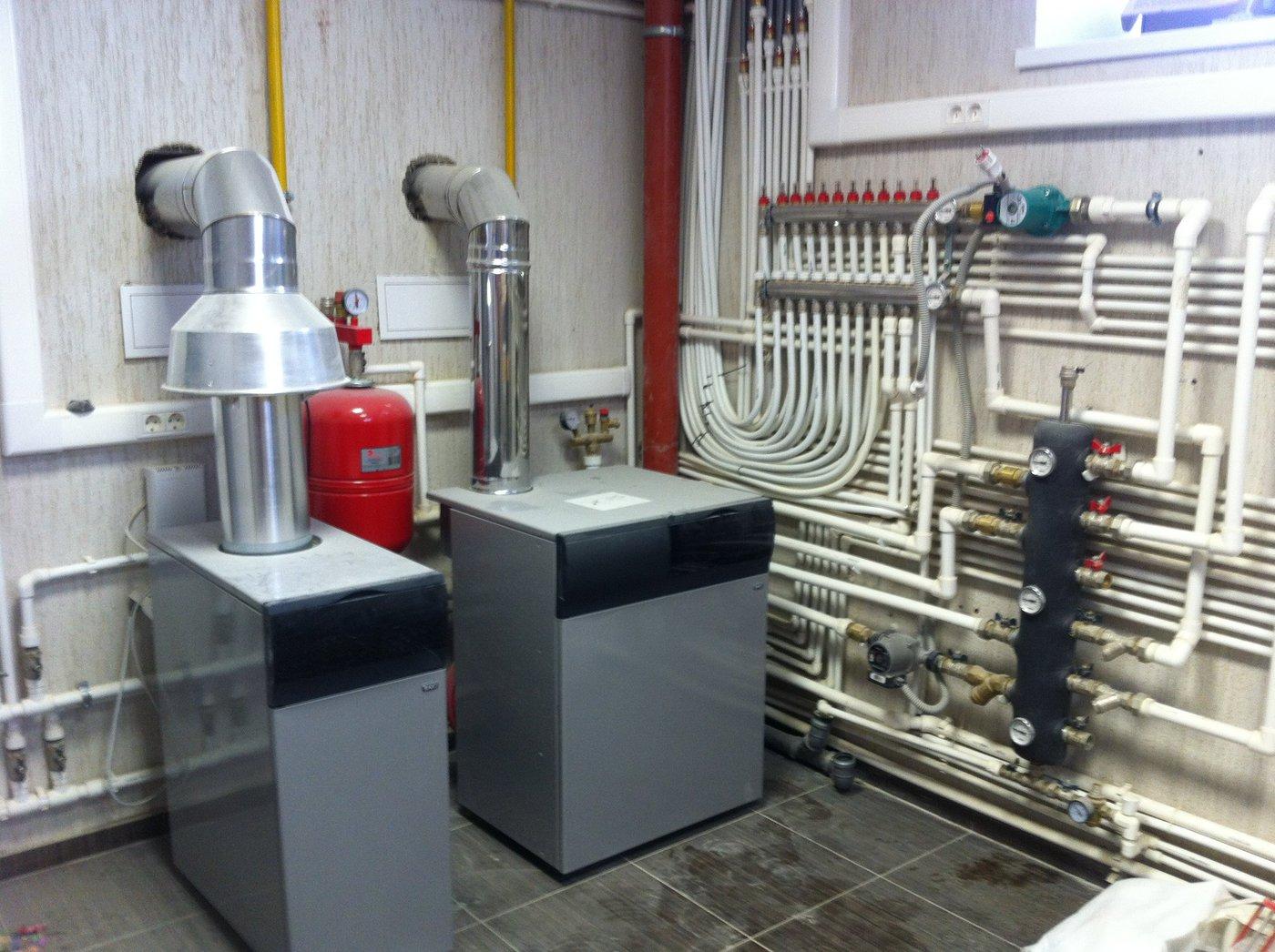 Отопление, водоснабжение и канализация. Монтаж