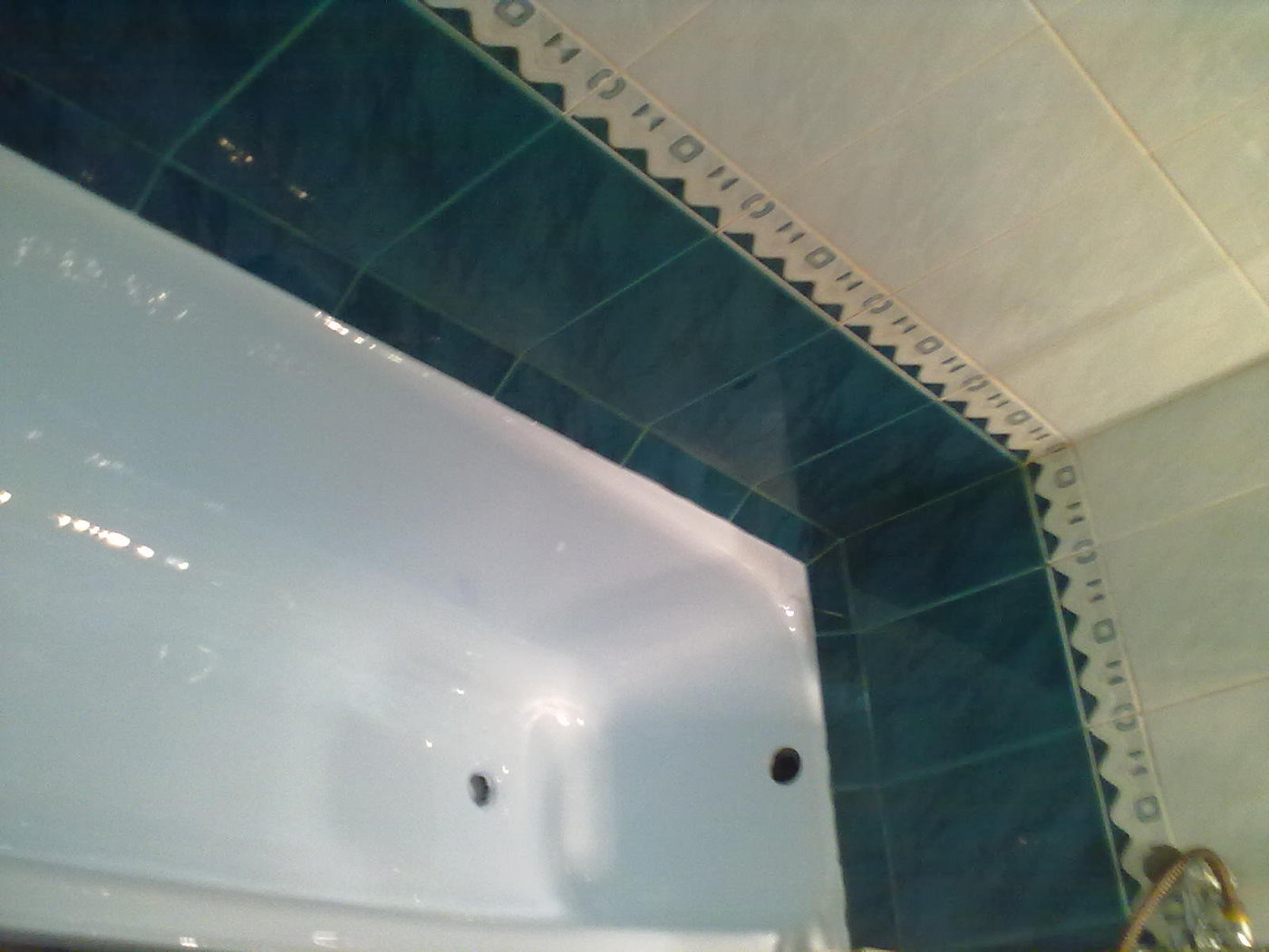 Сантехнические работы. Реставрация ванны.