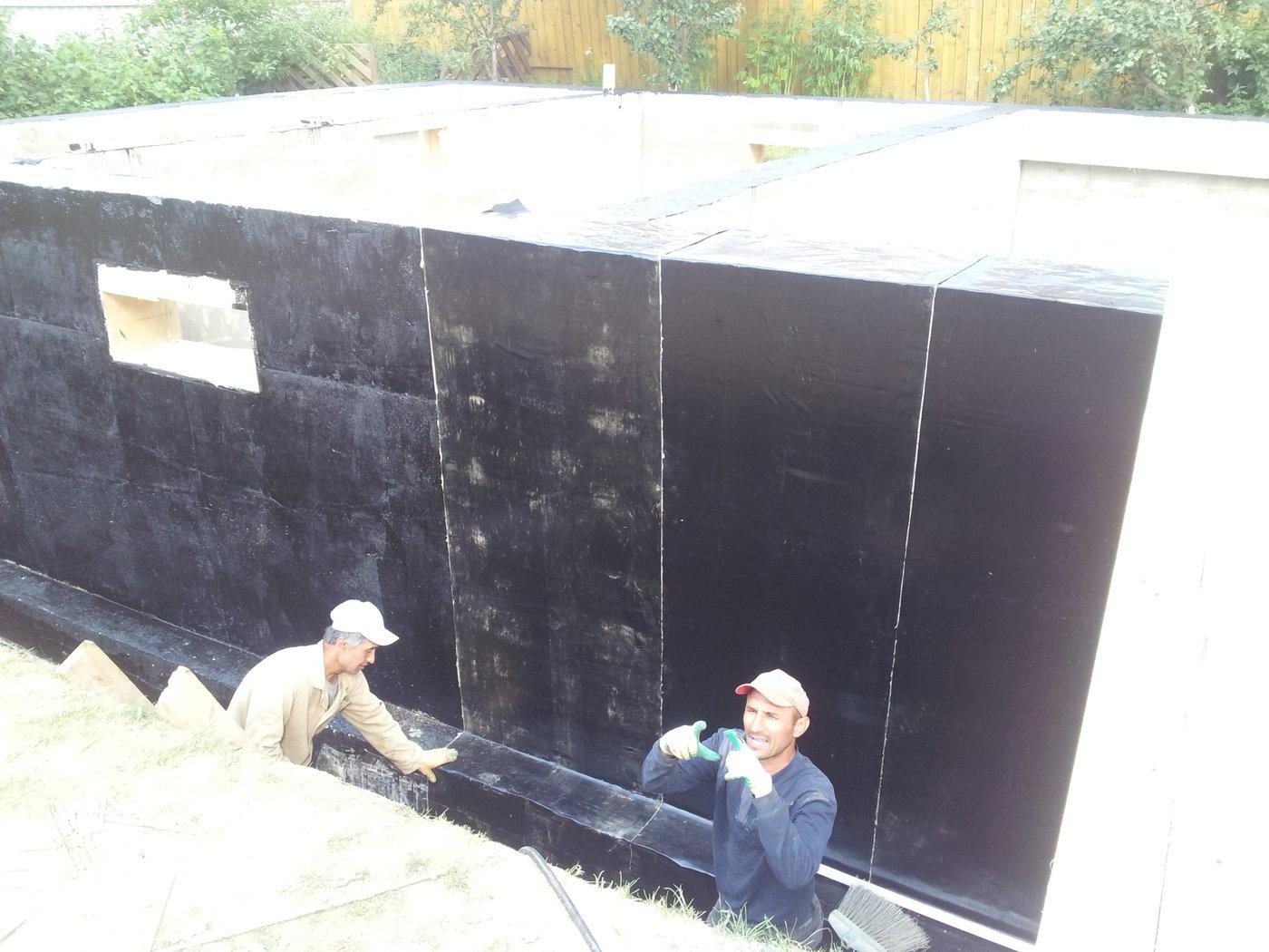Строительство бань, саун, бассейнов. 3х этажная баня с цокольным этажем