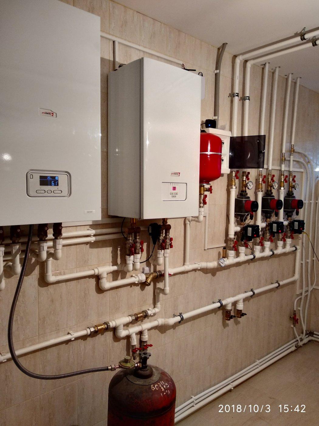 Отопление, водоснабжение и канализация. Сантехника
