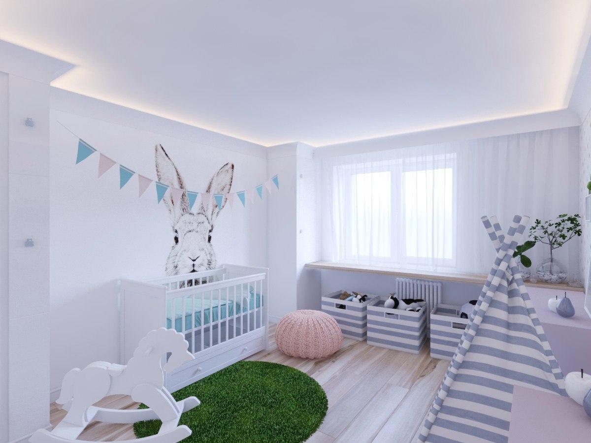 Ремонт детской комнаты. Ремонт квартиры на тихорецком пр