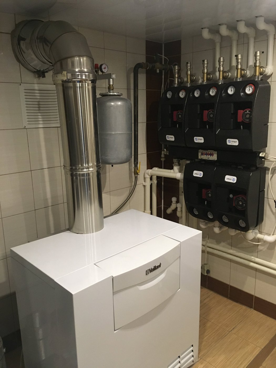 Отопление, водоснабжение и канализация. Отопление