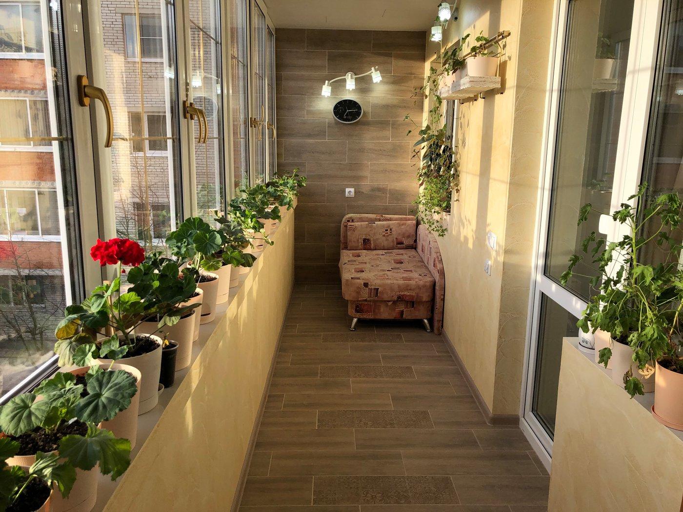 Ремонт квартиры. Балкон