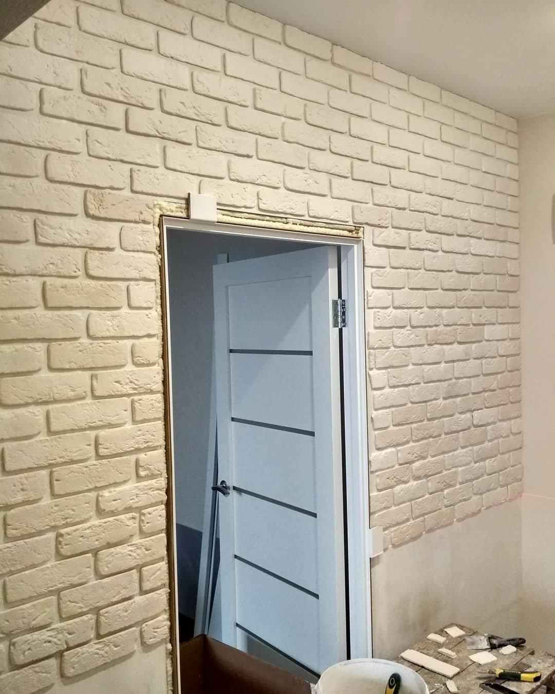 Строительство стен и перегородок. отделка клинкером