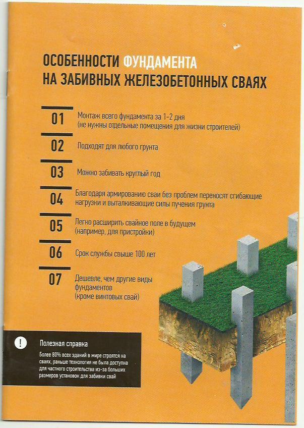 Строительство фундамента. Строительство