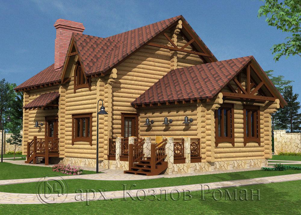Проектирование и сметы. Проектирование дома из окоренного бревна