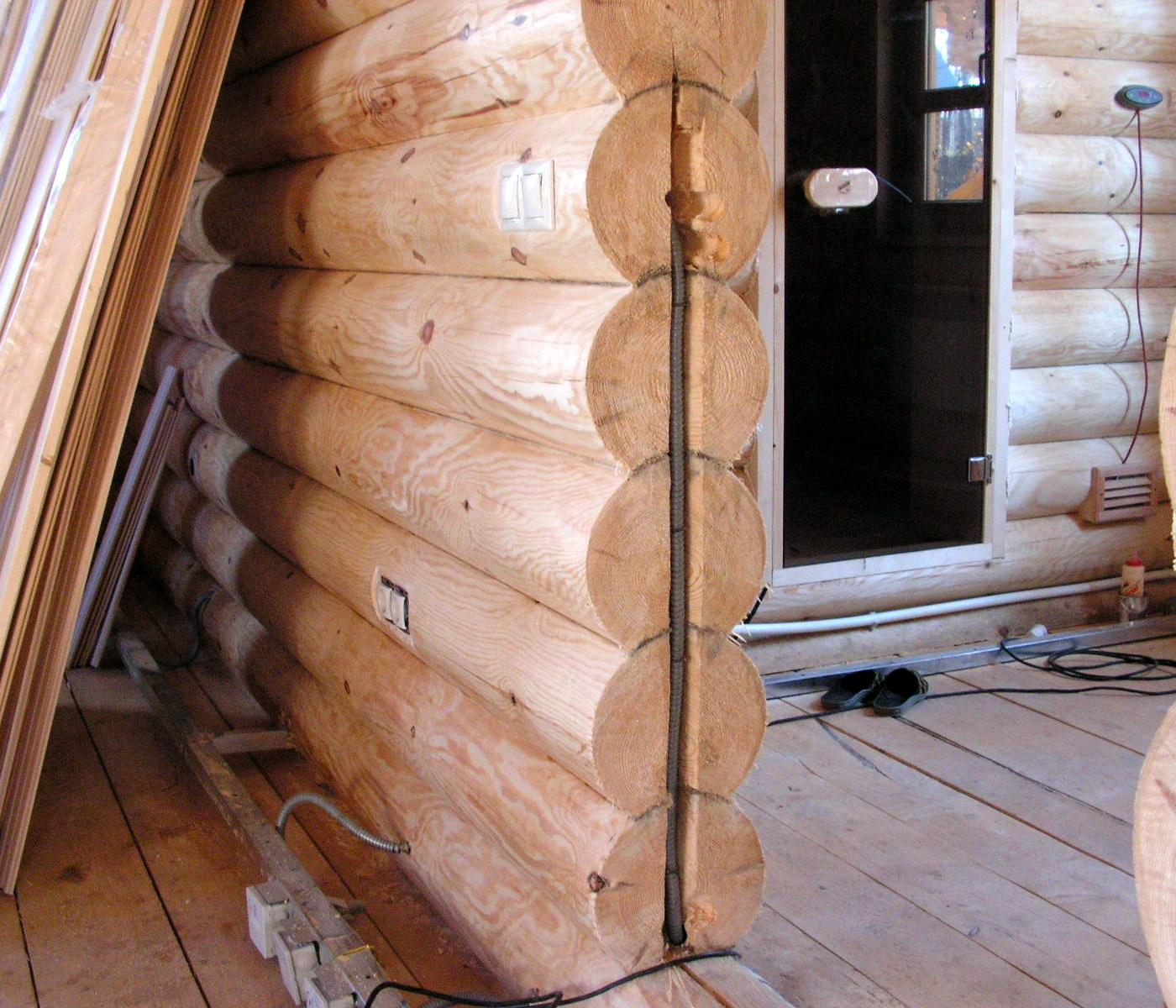 Кабельные и электромонтажные работы. Электромонтаж в деревянных домах